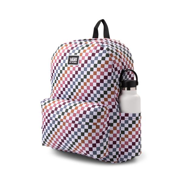 alternate view Vans Old Skool H2O Backpack - Multicolor / Dusted CheckALT4