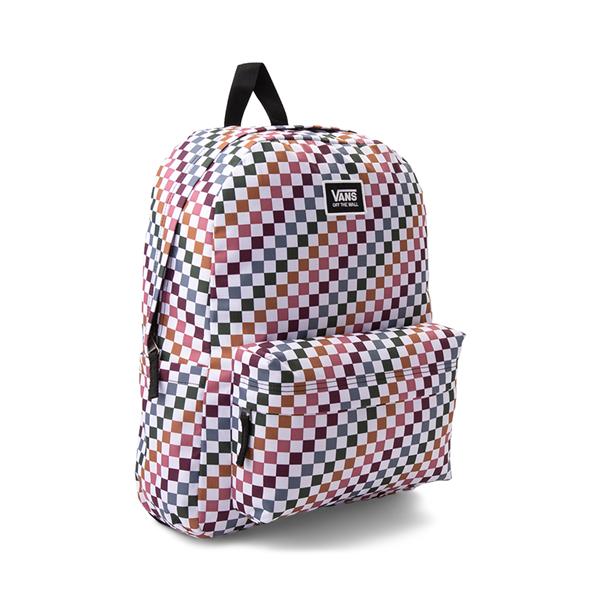 alternate view Vans Old Skool H2O Backpack - Multicolor / Dusted CheckALT4B