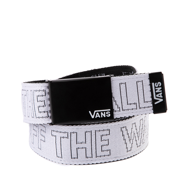 Main view of Vans Deppster Web Belt - White / Black