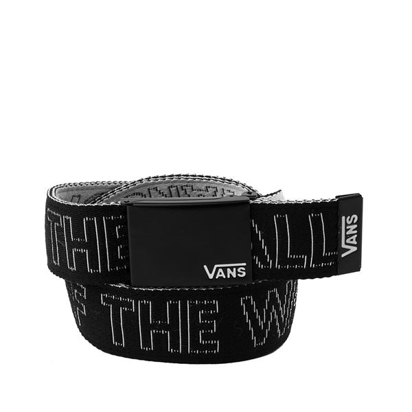 alternate view Vans Deppster Web Belt - White / BlackALT1