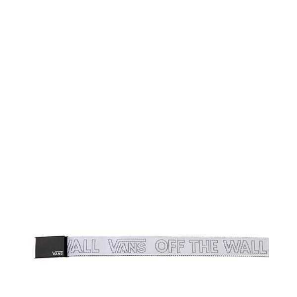 alternate view Vans Deppster Web Belt - White / BlackALT2