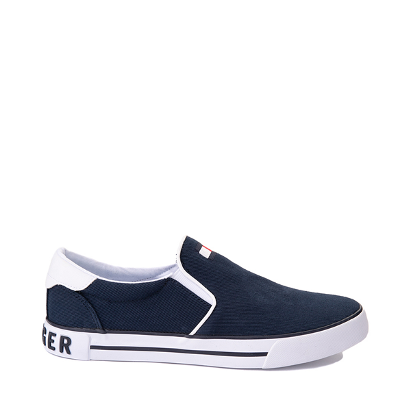 Main view of Mens Tommy Hilfiger Roaklyn Slip On Casual Shoe - Navy