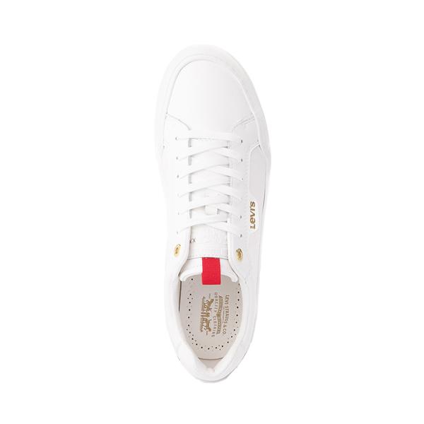alternate view Mens Levi's 521 XX Lo Casual Shoe - WhiteALT2