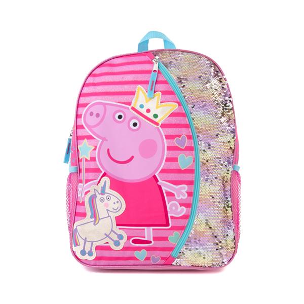 Main view of Peppa Pig Unicorn Backpack - Pink