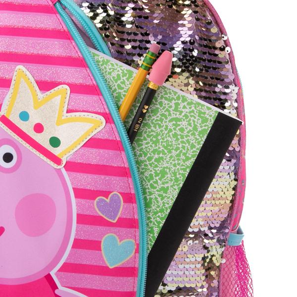 alternate view Peppa Pig Unicorn Backpack - PinkALT3B