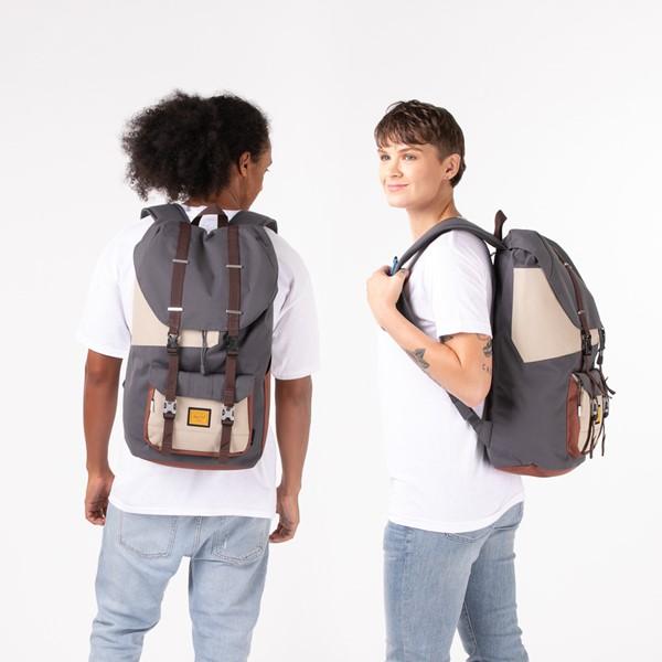 alternate view Star Wars™ x Herschel Supply Co. The Mandalorian Little America Backpack - CharcoalALT1BADULT