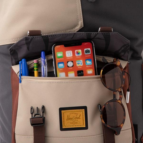 alternate view Star Wars™ x Herschel Supply Co. The Mandalorian Little America Backpack - CharcoalALT3B