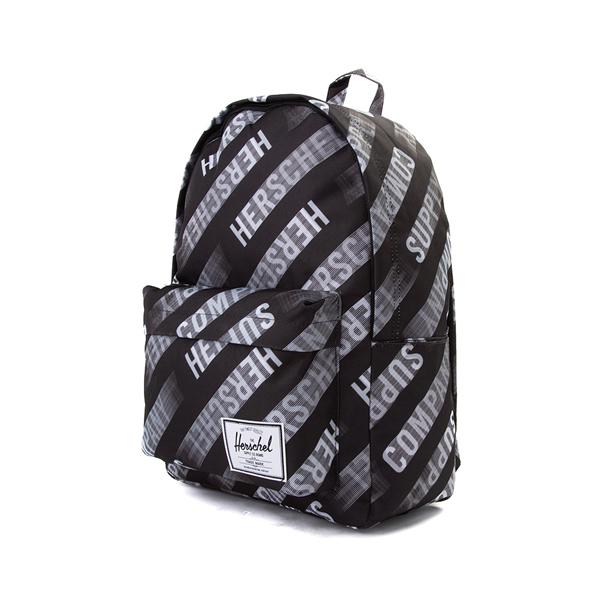 alternate view Herschel Supply Co. Classic XL Backpack - Black / Roll CallALT4