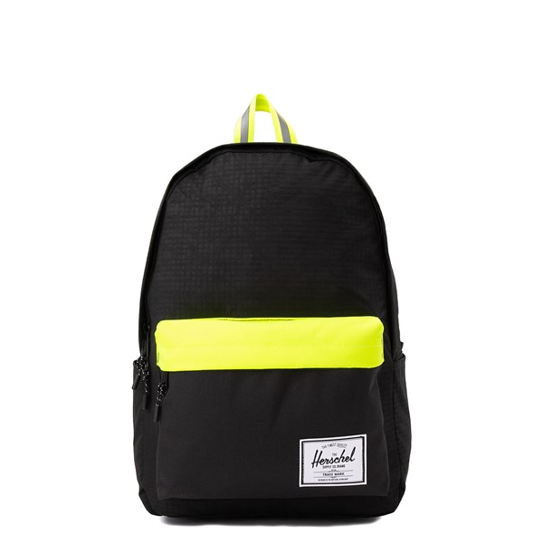 Main view of Herschel Supply Co. Classic XL Backpack - Black Enzyme / Safety Yellow