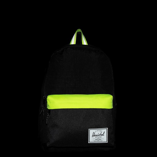 alternate view Herschel Supply Co. Classic XL Backpack - Black Enzyme / Safety YellowALT1B