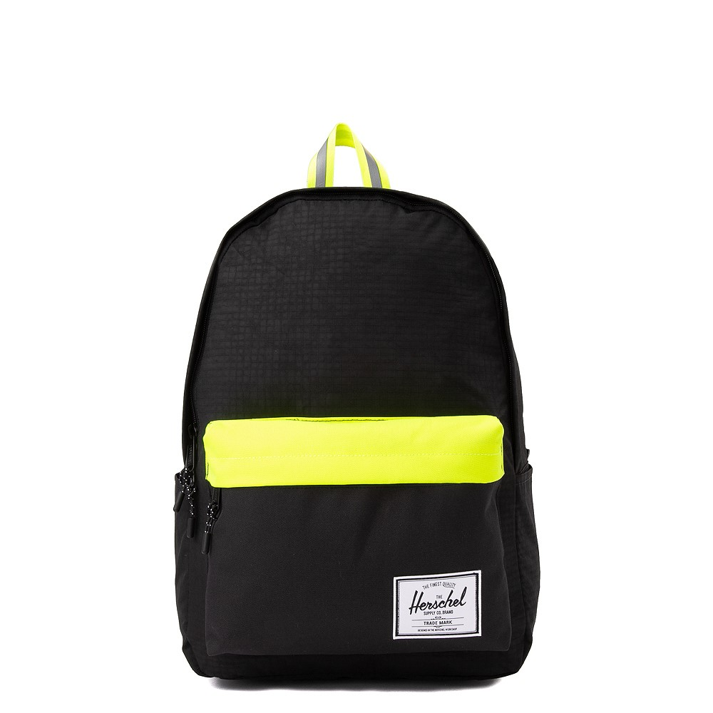 Herschel Supply Co. Classic XL Backpack - Black Enzyme / Safety Yellow