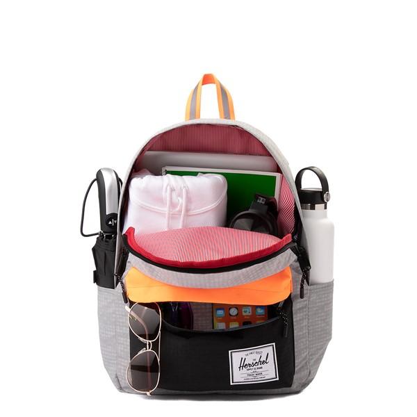 alternate view Herschel Supply Co. Classic XL Backpack - Enzyme Gray / Shocking OrangeALT1