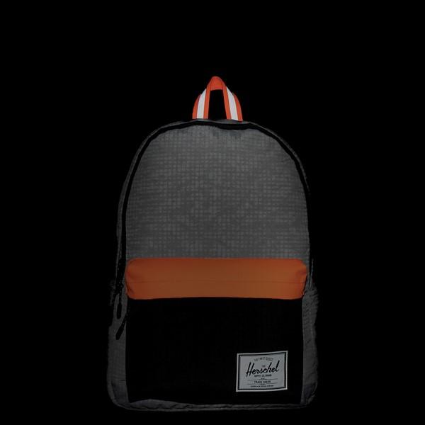 alternate view Herschel Supply Co. Classic XL Backpack - Enzyme Gray / Shocking OrangeALT1B