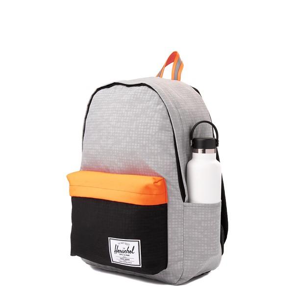 alternate view Herschel Supply Co. Classic XL Backpack - Enzyme Gray / Shocking OrangeALT4