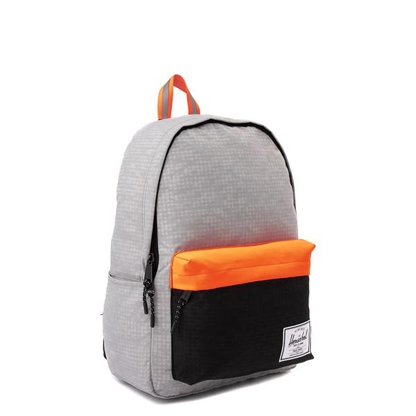 alternate view Herschel Supply Co. Classic XL Backpack - Enzyme Gray / Shocking OrangeALT4B