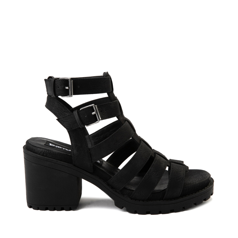 Womens Dirty Laundry Fun Stuff Sandal - Black