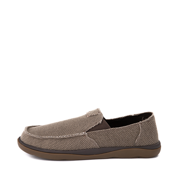 alternate view Mens Sanuk Vagabond Tripper Slip On Casual Shoe - BrownALT1