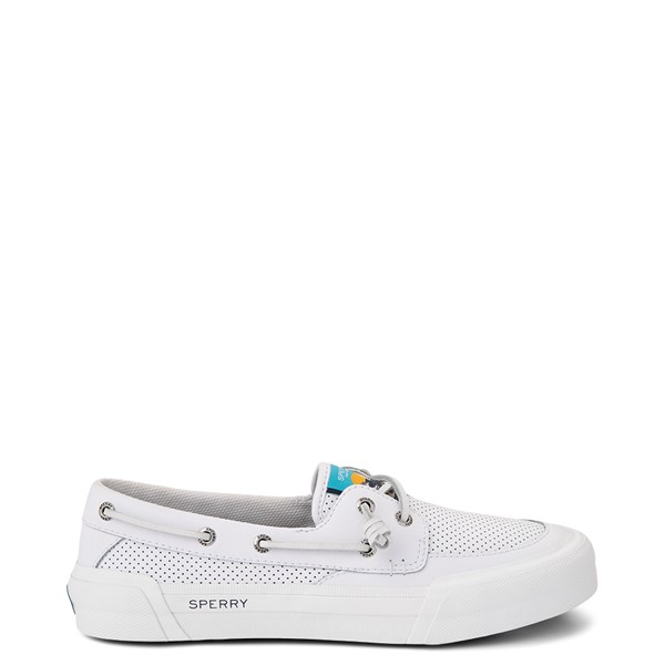 Main view of Womens Sperry Top-Sider Soletide 2-Eye Casual Shoe - White