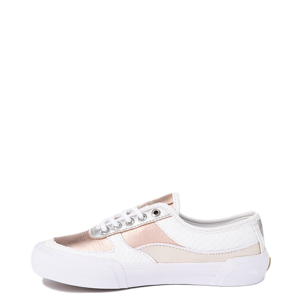 alternate view Womens Sperry Top-Sider Soletide Sneaker - White / Rose GoldALT1