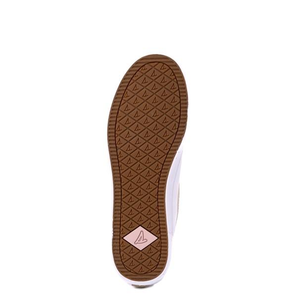 alternate view Womens Sperry Top-Sider Soletide Sneaker - White / Rose GoldALT3