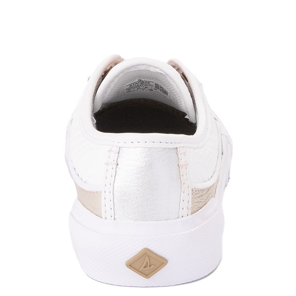 alternate view Womens Sperry Top-Sider Soletide Sneaker - White / Rose GoldALT4