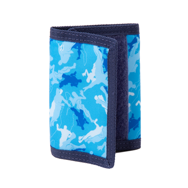 Main view of Fortnite Dance Trifold Wallet - Blue Camo