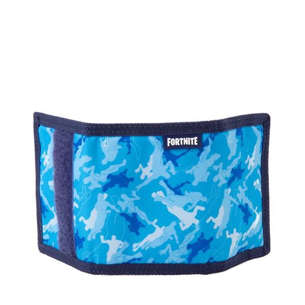 alternate view Fortnite Dance Trifold Wallet - Blue CamoALT2