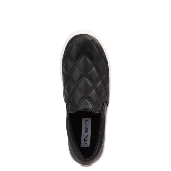 alternate view Womens Steve Madden Coulter Slip On Casual Shoe - BlackALT2