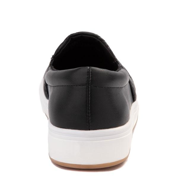 alternate view Womens Steve Madden Coulter Slip On Casual Shoe - BlackALT4