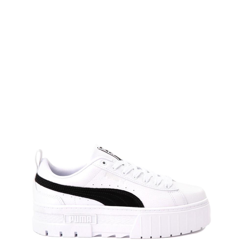 Puma Mayze Platform Athletic Shoe - Big Kid - White