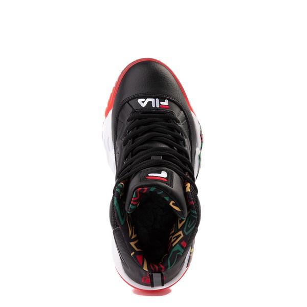 alternate view Fila MB Athletic Shoe - Big Kid - Black / RastaALT2