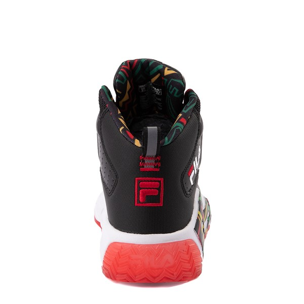 alternate view Fila MB Athletic Shoe - Big Kid - Black / RastaALT4