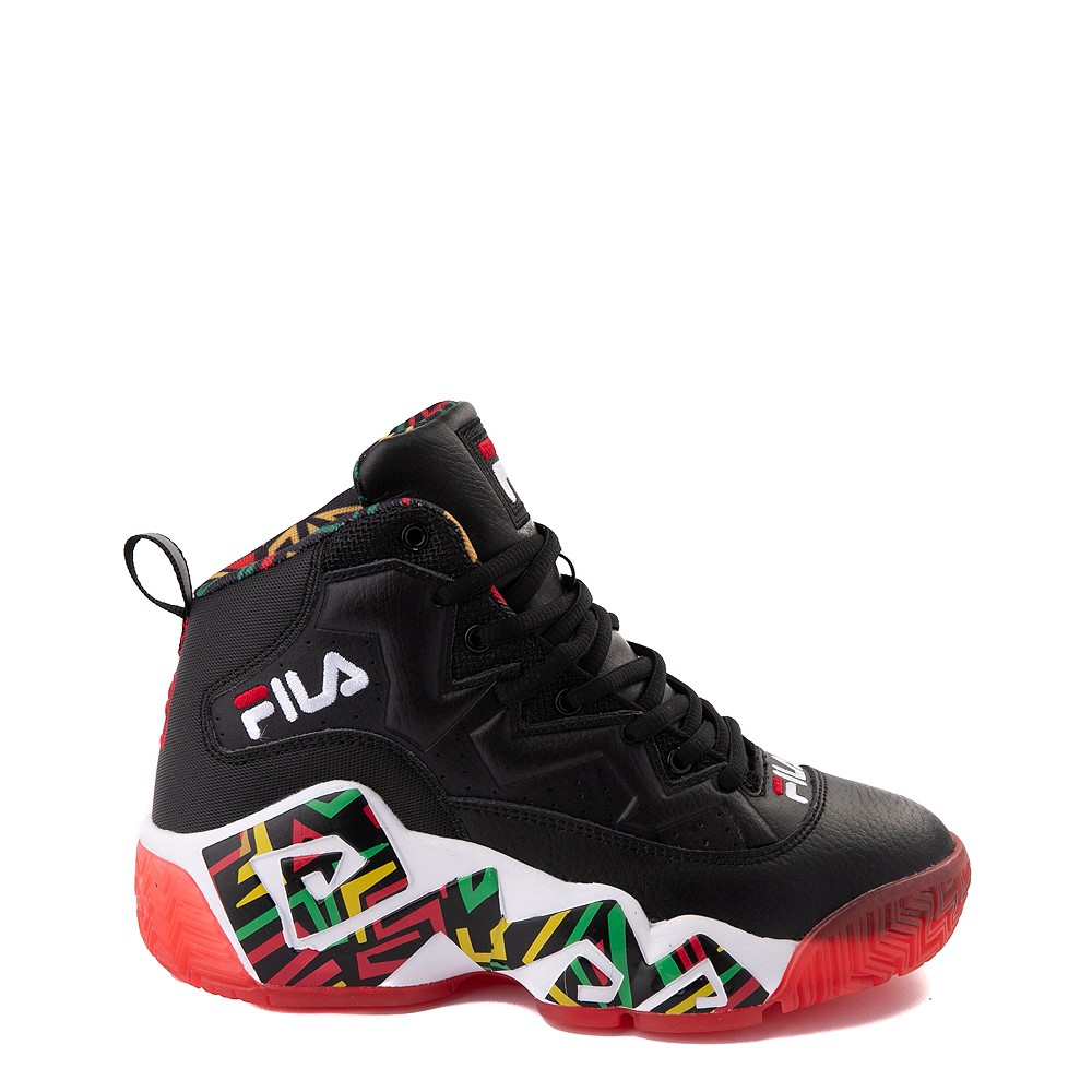 Fila MB Athletic Shoe - Big Kid - Black / Rasta