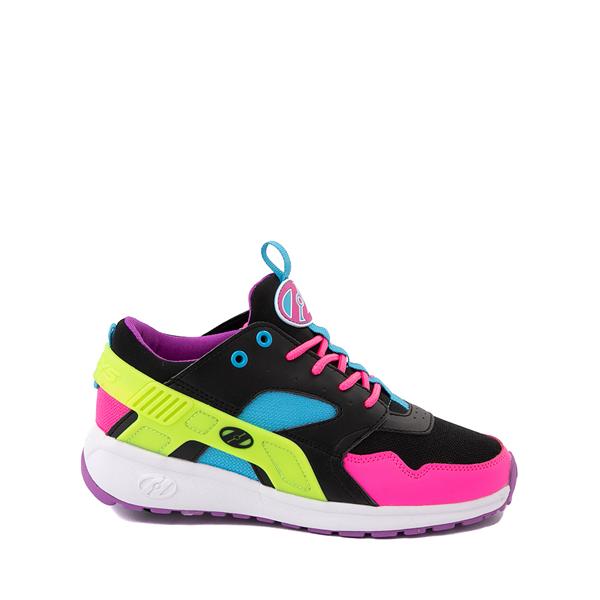 Main view of Heelys Force Skate Shoe - Little Kid / Big Kid - Black / Neon Color-Block