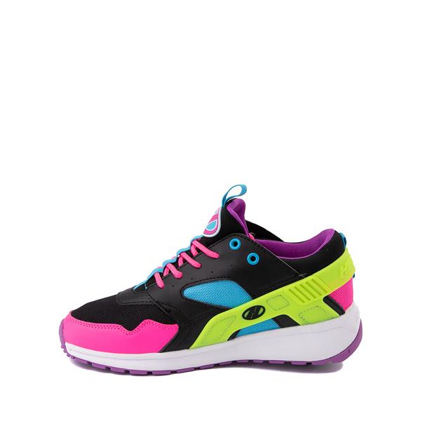 alternate view Heelys Force Skate Shoe - Little Kid / Big Kid - Black / Neon Color-BlockALT1