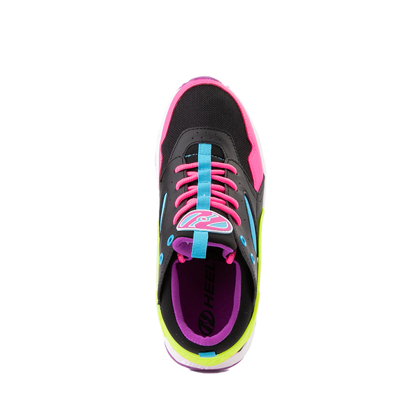 alternate view Heelys Force Skate Shoe - Little Kid / Big Kid - Black / Neon Color-BlockALT2