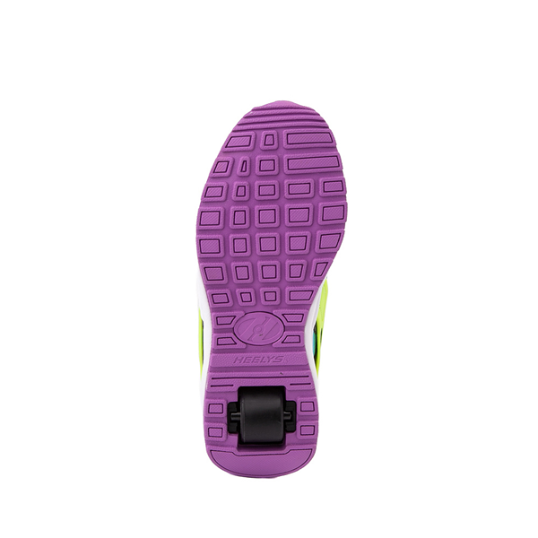 alternate view Heelys Force Skate Shoe - Little Kid / Big Kid - Black / Neon Color-BlockALT3