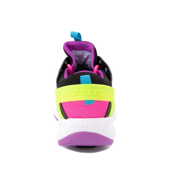 alternate view Heelys Force Skate Shoe - Little Kid / Big Kid - Black / Neon Color-BlockALT4
