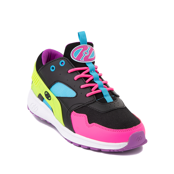 alternate view Heelys Force Skate Shoe - Little Kid / Big Kid - Black / Neon Color-BlockALT5