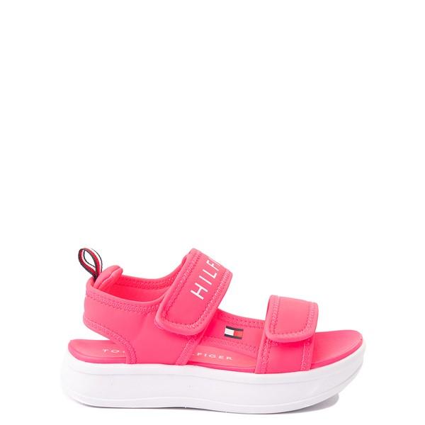 Tommy Hilfiger Leomi Platform Sandal - Little Kid / Big Kid - Neon Pink