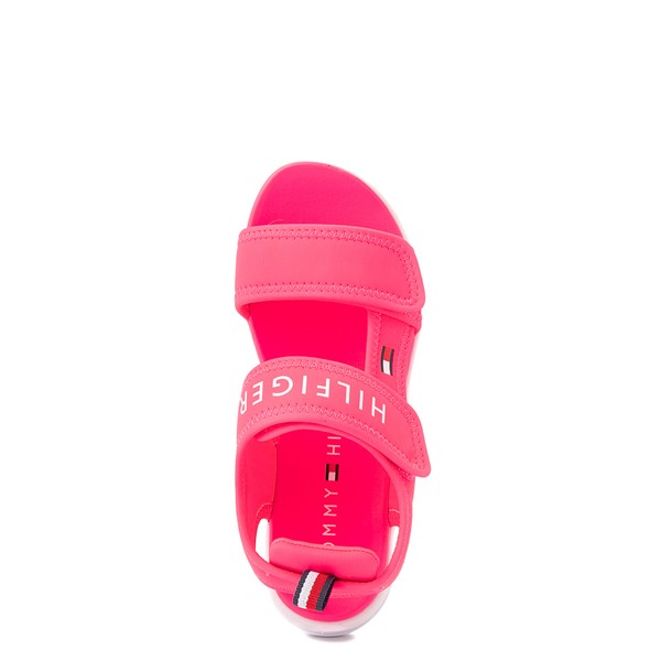alternate view Tommy Hilfiger Leomi Platform Sandal - Little Kid / Big Kid - Neon PinkALT2