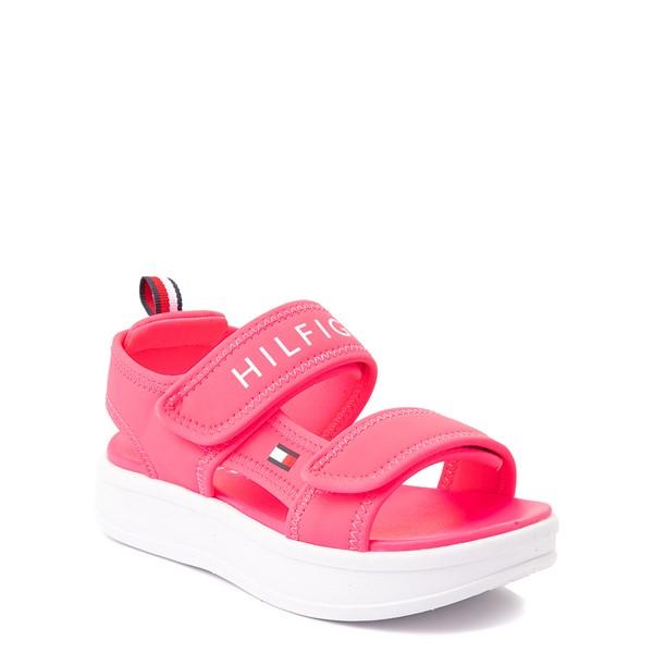 alternate view Tommy Hilfiger Leomi Platform Sandal - Little Kid / Big Kid - Neon PinkALT5