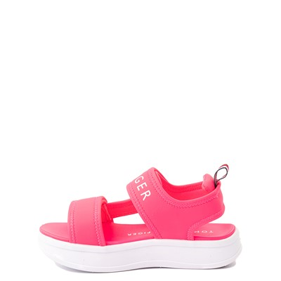 Alternate view of Tommy Hilfiger Leomi Platform Sandal - Little Kid / Big Kid - Neon Pink