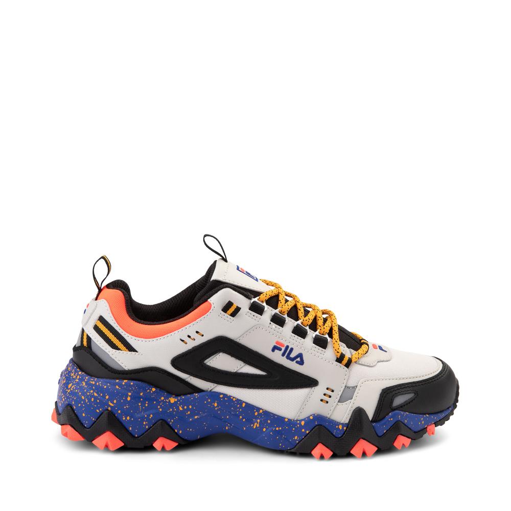 Mens Fila Oakmont TR Athletic Shoe - Silver Birch / Black / Maze Blue