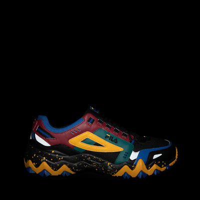 Alternate view of Mens Fila Oakmont TR Athletic Shoe - Black / Rio Red / Imperial Blue