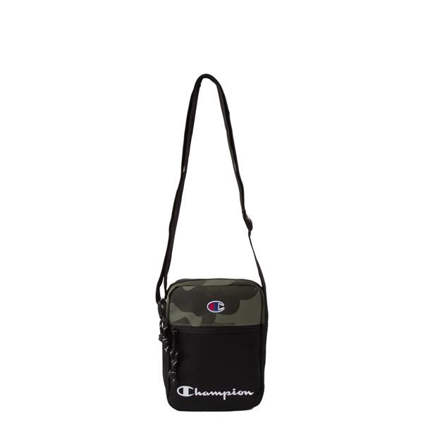 alternate view Champion Manuscript Crossbody Bag - Black / CamoALT3B