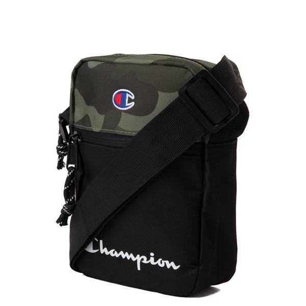alternate view Champion Manuscript Crossbody Bag - Black / CamoALT4