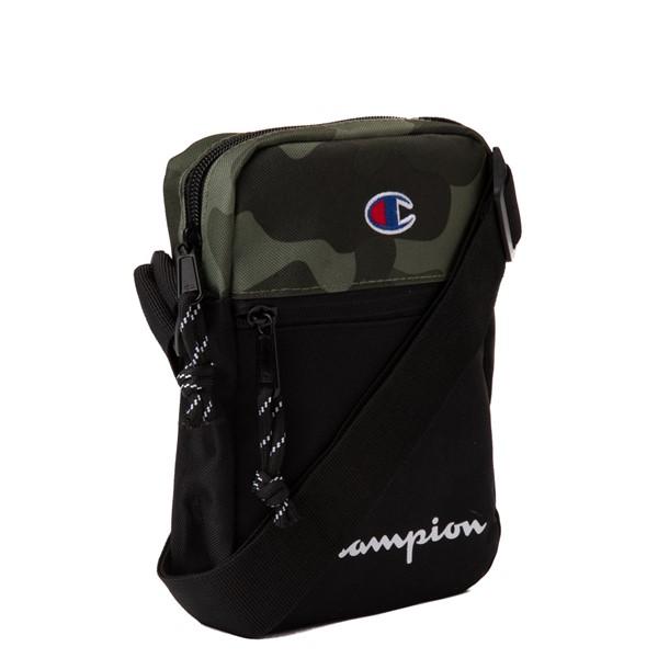 alternate view Champion Manuscript Crossbody Bag - Black / CamoALT4B