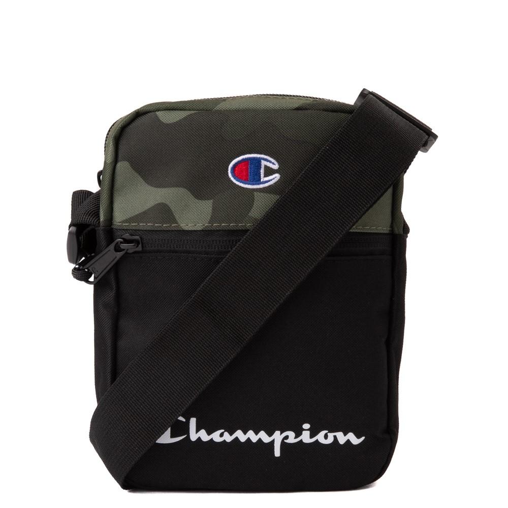 Champion Manuscript Crossbody Bag - Black / Camo