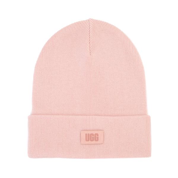 UGG® Tall Crown Watch Beanie - Pink Cloud